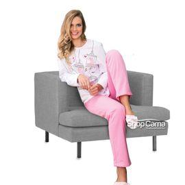 Pijama-Feminino-Longo-Moletinho-Birds-Vinci-01