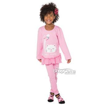 Pijama-Infantil-Longo-Legging-Gatinha-Rosa-Vinci-01