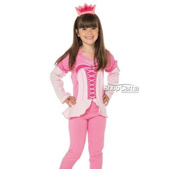 Pijama-Infantil-Longo-Princesa-Vinci-01