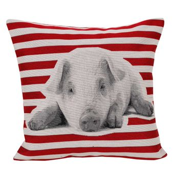 Capa-para-Almofada-45-x-45cm-Lovely-Pig---Hedrons