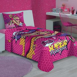 Roupa-de-Cama-Infantil-Barbie-Super-Princesa---Lepper