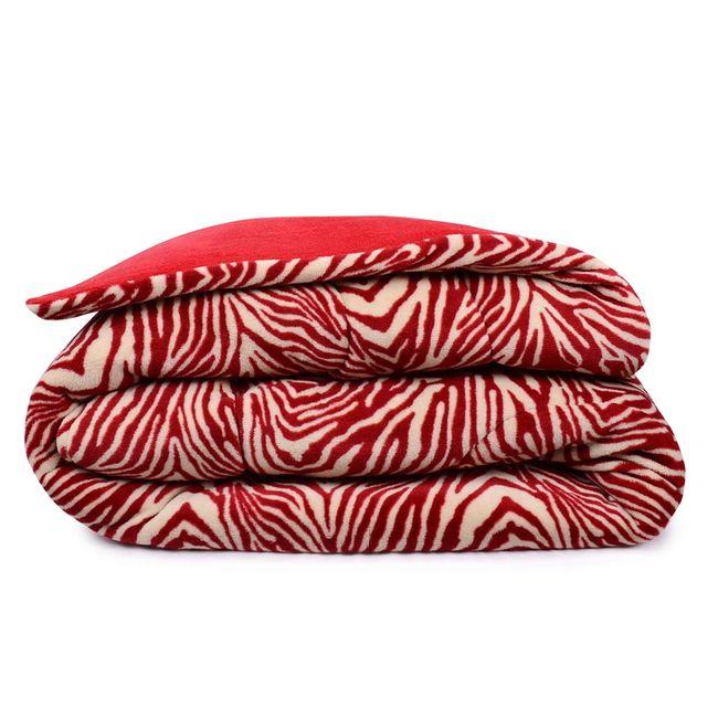Edredom-Casal-Microfibra-Zebra-Vermelha-Sofisticata---Atlantica