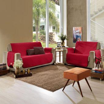 Protetor-de-Sofa-3-e-2-Lugares-Master-Pop-Microfibra-Vermelho-Rubi---Hedrons