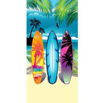 Toalha-de-Praia-Resort-Veludo-Multi-Beach---Buettner