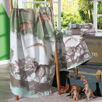 Toalha-de-Banho-Transfer-Mundo-dos-Dinossauros---Altenburg