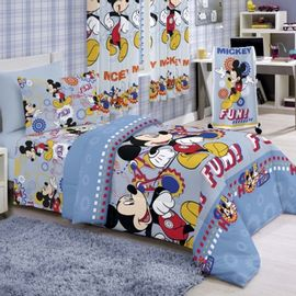Edredom-Solteiro-Disney-Mickey-Fun-Light---Santista