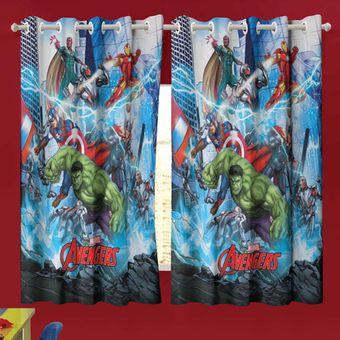 Cortina-Infantil-Avengers-150-x-180cm-Com-2-pecas-Lepper