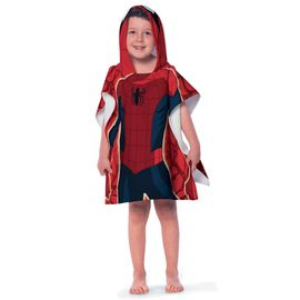 Toalha-Poncho-infantil-com-Capuz-Spider-Man-Ultimate---Lepper