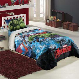 Edredom-Solteiro-Avengers---Lepper