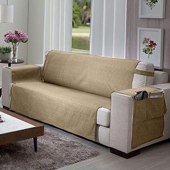 Protetor-de-Sofa-3-lugares-Elegance-Bege---Izaltex