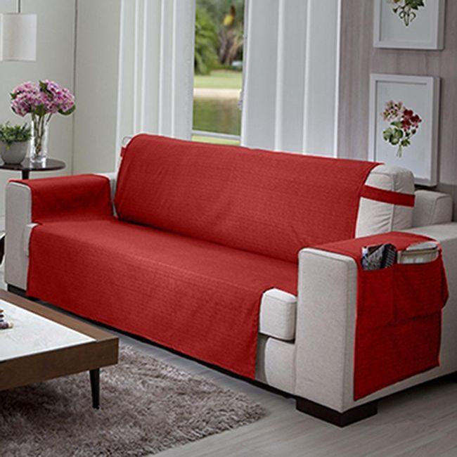Protetor-de-Sofa-3-lugares-Elegance-Vermelho---Izaltex