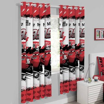 Cortina-Infantil-200-x-180cm-Cars-Graphics---Santista