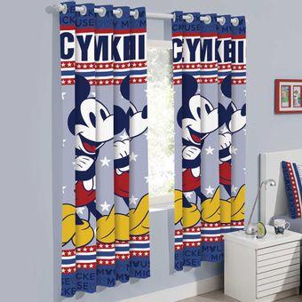 Cortina-Infantil-200-x-180cm-Mickey-Mouse---Santista