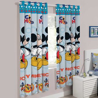 Cortina-Infantil-200-x-180cm-Mickey-Fun---Santista