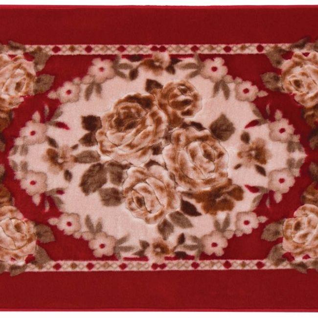 Tapete-Raschel-60-x-90cm-Vermelho-Orient-Canton---Jolitex