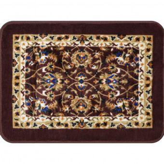 Tapete-Raschel-60-x-90cm-Vinho-Azul-Orient-Shantou---Jolitex