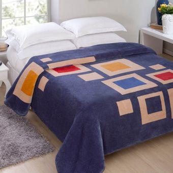 Cobertor-Casal-Raschel-Dakota-Indigo---Jolitex