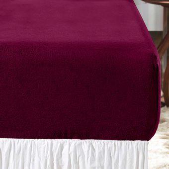 Lencol-Queen-Blend-Plush-Vermelho-Vision---Altenburg