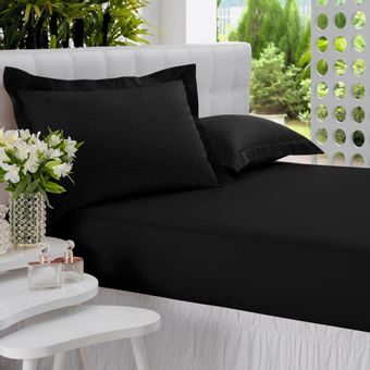 Jogo-de-Cama-Queen-Poa-All-Design-3-Pecas-Mini-Preto---Altenburg