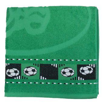 Toalha-de-Banho-Infantil-Verde-Bandeira-Soccer---Sao-Carlos