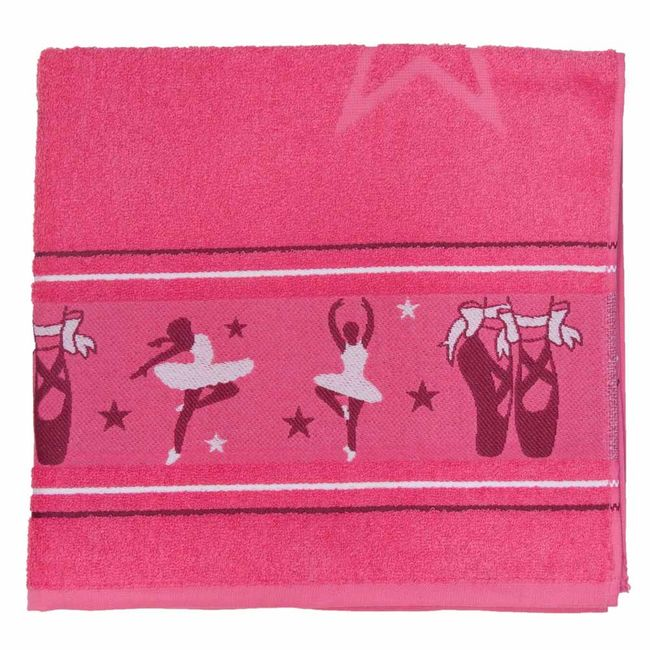 Toalha-de-Banho-Infantil-Pink-Bailarina---Sao-Carlos