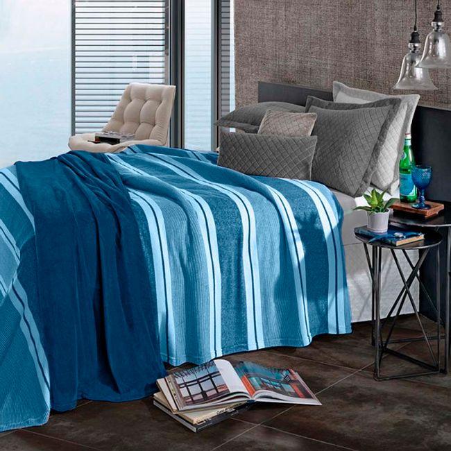 Cobertor-Solteiro-Madison-Navy-Revival---Hedrons