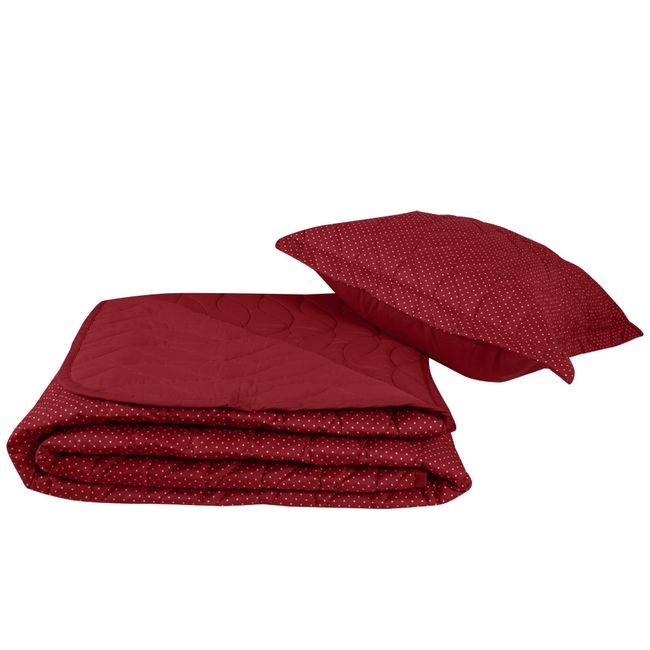 Colcha-Solteiro-Poa-All-Design-Mini-Vermelho---Altenburg