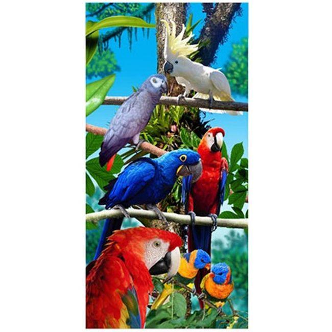 Toalha-de-Praia-Veludo-Birds---Bouton