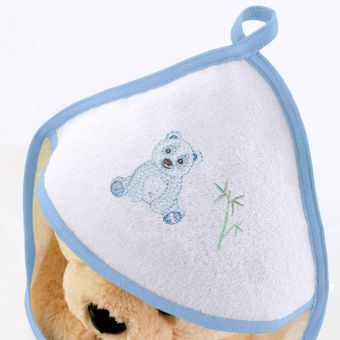Toalha-de-Banho-Felpuda-Pandas-Azul---Bouton