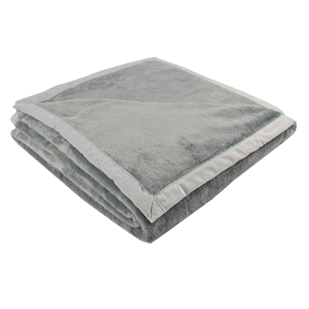 Cobertor King 240 x 250cm Toque de Luxo Cinza - Europa