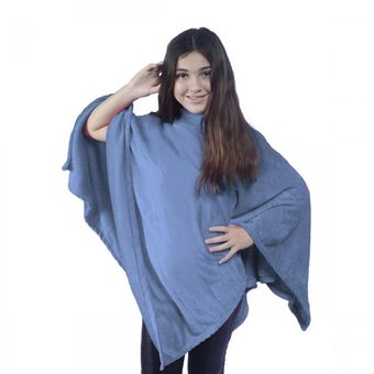 Poncho-Kids-Everest-Indigo---Juma