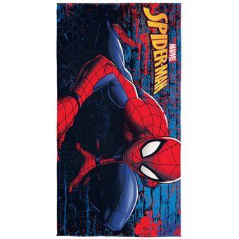 Toalha-de-Banho-Infantil-Spider-Man-Aveludada-Lepper