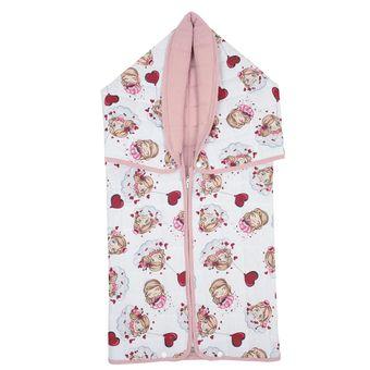 Manta-Baby-80-x-90cm-pink-girls-Lynel