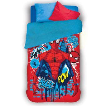 Coberdrom-Infantil-Dupla-Face-Spider-Man-Lepper