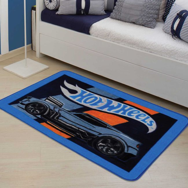 Tapete Hot Wheels Style 80cm x 1,20m - Jolitex