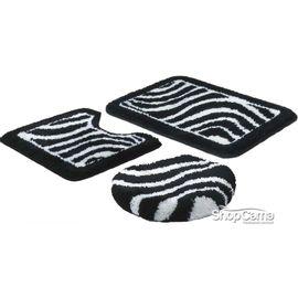 Jogo-de-Tapete-para-Banheiro-3-Pecas-Pelo-Alto-zebrinha-preto-Jolitex