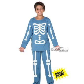 Pijama-Infantil-Longo-Brilha-no-Escuro-Esqueleto-Vinci-01