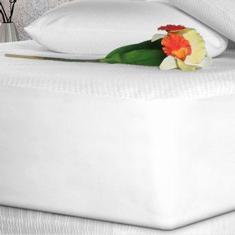 Lencol-Impermeavel-King-Branco-Toque-de-Rosas---Fibrasca