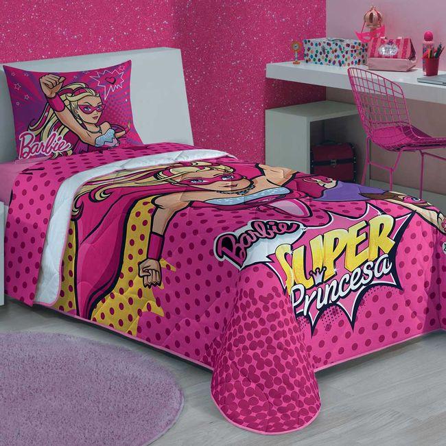 Edredom-Infantil-Barbie-Super-Princesa---Lepper
