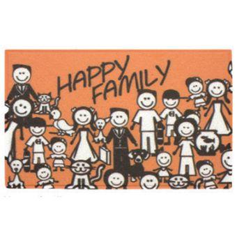 Capacho-60x40cm-Happy-Family---Kapazi