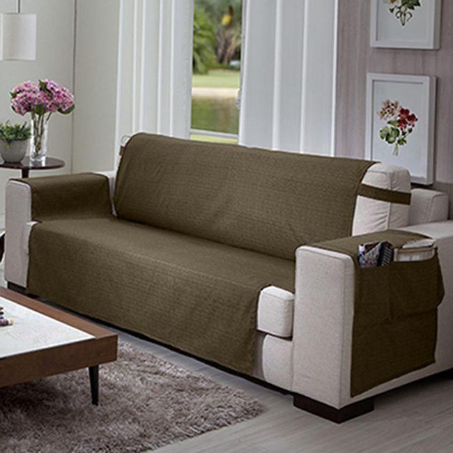 Protetor-de-Sofa-3-lugares-Elegance-Marrom---Izaltex
