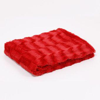 Manta-para-Sofa-Vermelho-Aurora---Hedrons