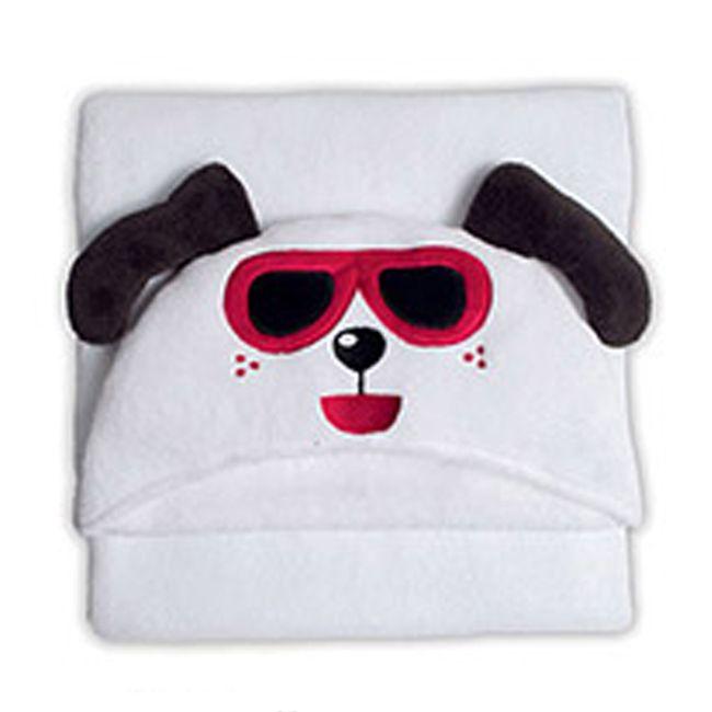 Manta-Microfibra-Infantil-Capuz-Happy-Dog---Bouton