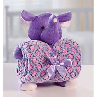 Manta-com-Bichinho-de-Pelucia-Elefante---Bouton