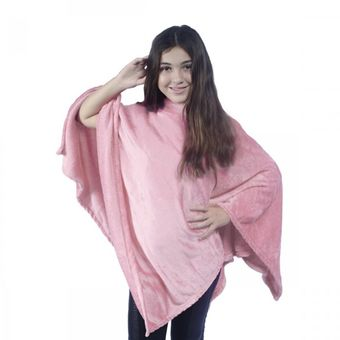 Poncho-Kids-Everest-Rosa---Juma