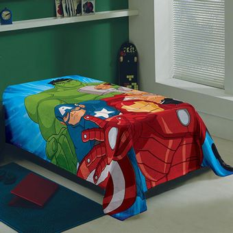 manta-solteiro-fleece-avengers-lepper