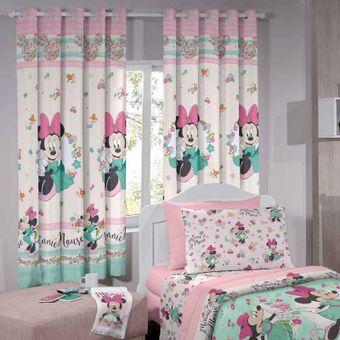 Cortina-Infantil-Minnie-Liberty-200-x-180cm-Disney-Santista