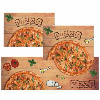 Jogo-de-Tapete-de-Cozinha-Mangiare-pizza-3-Pecas-Jolitex