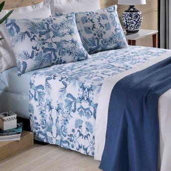jogo-de-cama-casal-prata-dandy-azul-4-pecas-santista