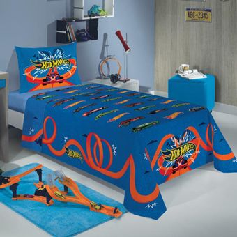 roupa-de-cama-Infantil-Hot-Wheels-Lepper-2